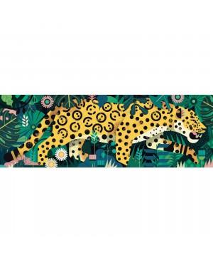Puzzle Gallery Leopard 1000 pièces Djeco