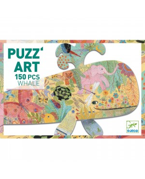 Puzz'art Whale 150 pièces Djeco