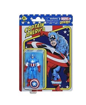 Marvel Legends Retro Captain America 9.5cm