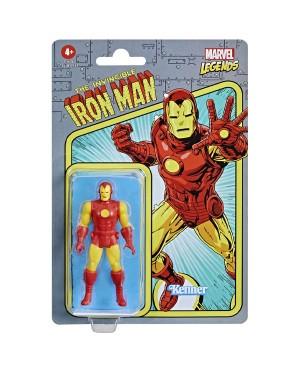 Marvel Legends Retro Iron Man 9,5cm