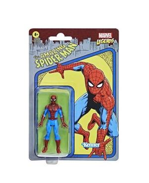 Marvel Legends Retro Spider-Man 9.5cm