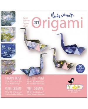 ART ORIGAMI - CLAUDE MONET