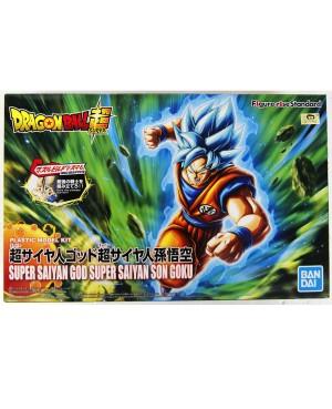Dragon Ball Z Maquette Figure -Rise Super Saiyan God Super Saiyan Son Goku 14 cm