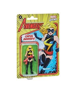 Marvel Legends Retro Captain Marvel 9.5cm