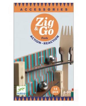 Zig & Go-Fork- 14 pièces Djeco