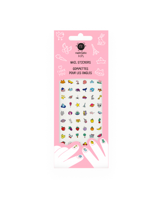 Stickers pour ongles enfant - Happy Nails Nailmatic