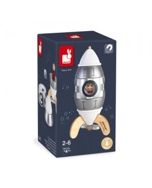 Kit magnet fusée argentée Janod
