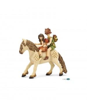 Poney et enfants elfes Papo